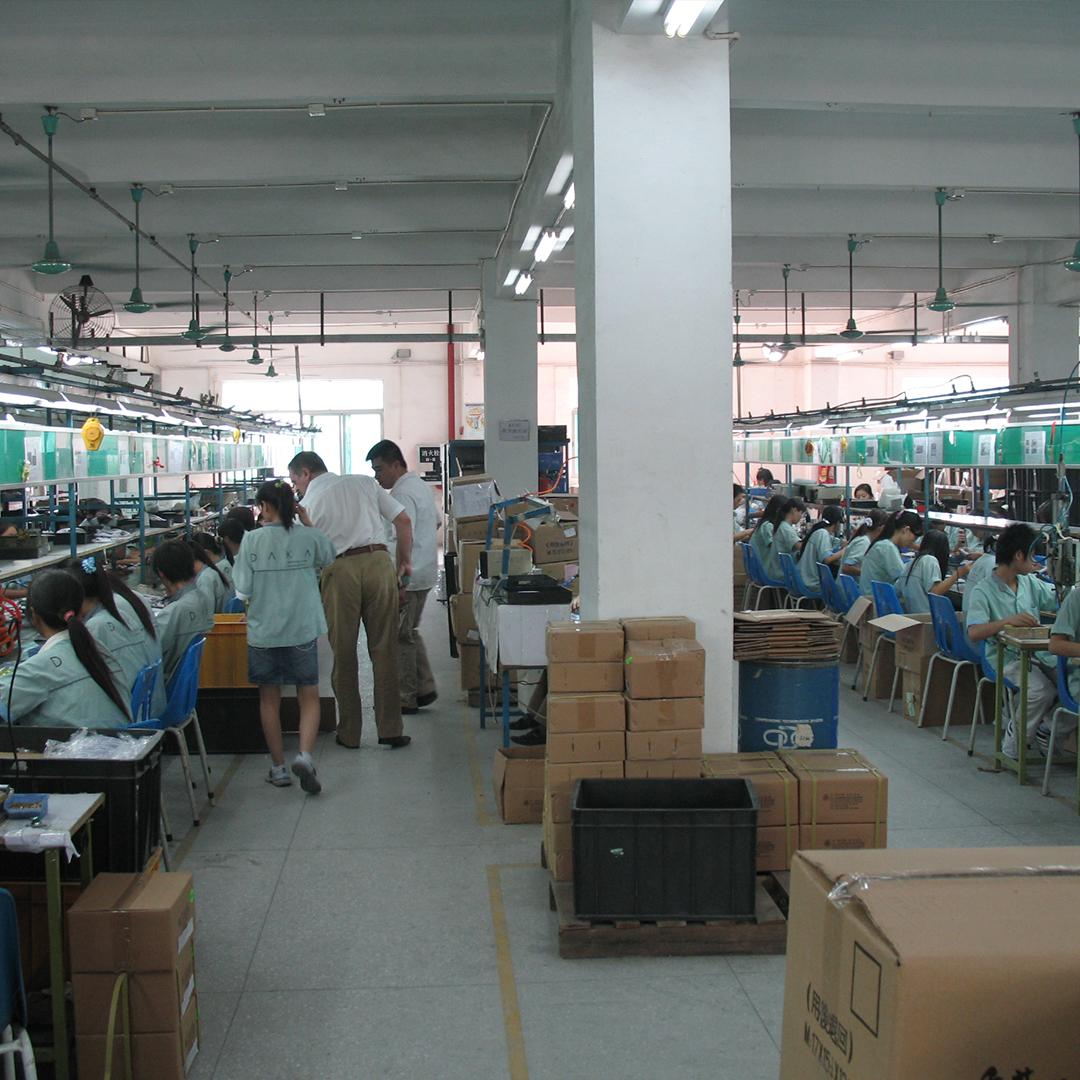 China Factory Working